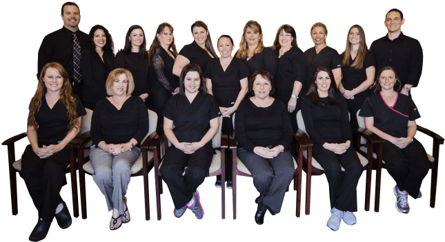 The Sebastian Dental team
