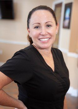 Dental hygienist Michelle